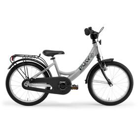 """Puky ZL 16-1 Alu - Bicicletas para niños - 16"""" gris/negro"""